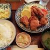 まつや - 料理写真:唐揚げ定食(770円)