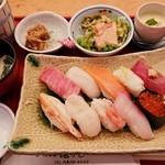 浜寿し - 料理写真:超特選にぎり 1,570円 2018/12