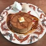 ムレスナ ティーハウス - 究極のホットケーキ 1500円(税別)