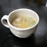 和牛の紀楽 - ☆野菜スープ