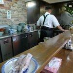 中華料理 かえる - シェフが料理中!!