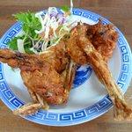 中華料理 かえる - カエルのから揚げ