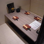 播鳥 - こんな感じの個室です