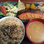 98330308 - 鮭の味噌漬け焼き