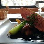 ビストロ ラ ポーレ - 鴨ムネ肉のロースト