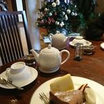 サロン・ド・カフェ よしだ - 料理写真:ガトーショコラ♪クリスマスツリー♪
