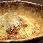 中華そば くにまつ - 汁なし担々麺