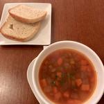 カフェ ド セット - スープ&パン