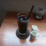 ワールドブックカフェ - アイスコーヒー