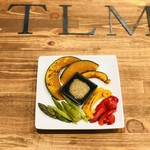 グリルバル タルム - グリル野菜盛り