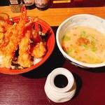 98340522 - 米福天丼