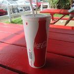 Romy's Kahuku Prawns & Shrimp - 飲み物は50セント足してコーラーをセットにしてもらいました。