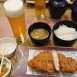 tonkatsuke-waike- - 薩摩錦おごじょ豚ロースとんかつ膳