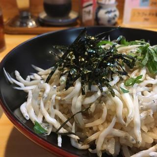 海ひこ - 料理写真:海ひこさんのしらす丼