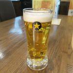 炭火焼き肉 翔 - ドリンク写真:サッポロ黒生ビール(420円)