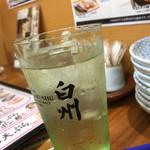 沼津魚がし鮨 - 白州ハイボール