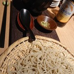 紫檀 手打ち蕎麦と焼鳥 - 料理写真:蕎麦 カモセイロ 1,500円