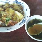 香陽軒 - 特製肉丼 (550円)