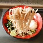 名代 富士そば - 麺リフト