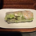 98352070 - ランチ(カレーフォー、ガパオ飯) ¥1,500 の生春巻き