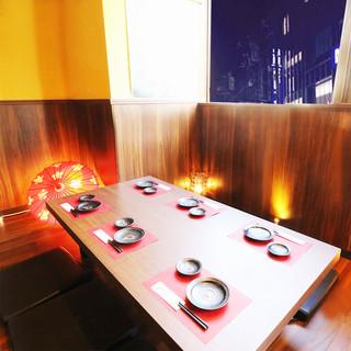 ◆上質な和空間個室◎2名様〜団体様まで個室でご案内!◆