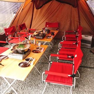 あったかテントで食べ・飲み・歌い放題!