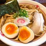 秋刀鮪だし 宣久 - 料理写真:しょうゆ味玉(850円)