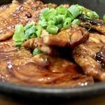 炭焼豚丼 豚野郎 - 小盛はご飯200gお肉150g