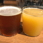 Beer&Beef Dinning Cariage - TAP−3◉左③Evolution(USA)Lot.No.3<エボリューション ロットナンバー3>Regular 税込み950円 種類:IPA◉右⑤Industrial(USA)Wrench<インダストリアル レンチ>Regular 税込み1200円 種類:N/E DOUBLE IPA
