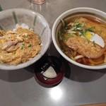 98361559 - きつねうどん+小親子丼