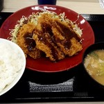 かつや - 料理写真:ヒレカツ定食