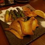 おかん - 季節野菜3点盛り