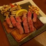 おかん - A-5 黒毛和牛サーロインステーキ