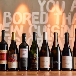 シニアソムリエ厳選のワインリスト