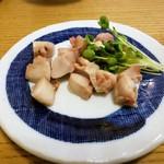 寿司常 - ボラへそ塩焼