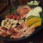 鳥あみ焼 彩 - 料理写真:讃岐もも肉セット 1,800円