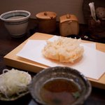 蕎麦招人 仟 - 蕎麦招人 仟 かき揚げ