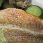 マーレ ディ オータニ - アクアパッツァの魚(ホウボウ)部分