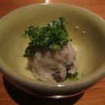 日本料理 美松 - 先付け(おから)
