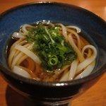日本料理 美松 - 椀物(稲庭うどん)