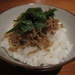 日本料理 美松 - ジャコ飯