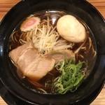 屋台ラーメン走麺屋 - 料理写真:ブラックしょうゆラーメン780円