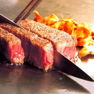 信州プレミアム牛肉テンダーロインのステーキ50gからOK♩
