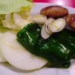 沖苑 - 野菜焼き