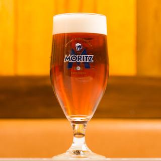 スペイン産樽生ビール