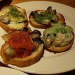 oyster&wine kitchen K - グリルオイスター4種盛り