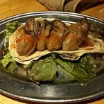 oyster&wine kitchen K - 牡蠣の自家製オイル漬け
