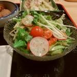 おばんざい屋 ふぅ - おばんざいセットのサラダ
