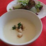 オステリア イル ペッシェ - スープ