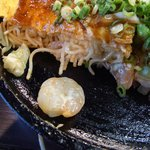 鉄板焼 蓮 - プリプリの海老が美味しい